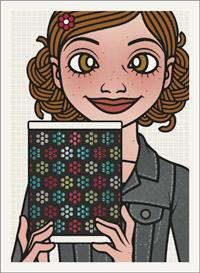 Lily Lux Passbild mit einer Laterne zum Martinstag