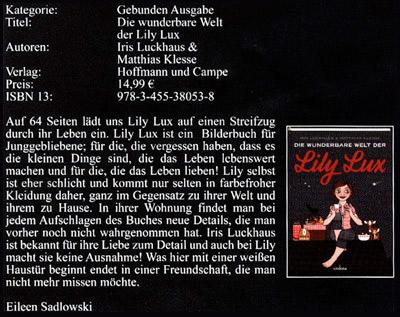 Die wunderbare Welt der Lily Lux als Empfehlung bei Dark Spy