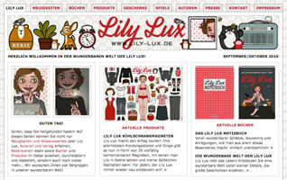 Lily Lux Website